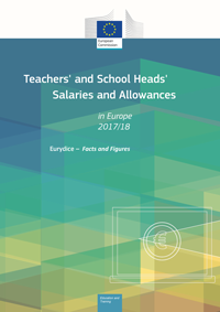 "Omslag till Eurydikerapporten ""Teachs and School Heads Salaries and Allowances"""